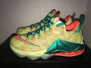 online retailer 11f75 02122 Image is loading Nike-LeBron-XII-Low-LeBronald-Palmer-QS-Men-