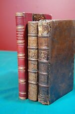 3 Vintage Religious Books in French Leather Bindings Francois D'Assise 1864