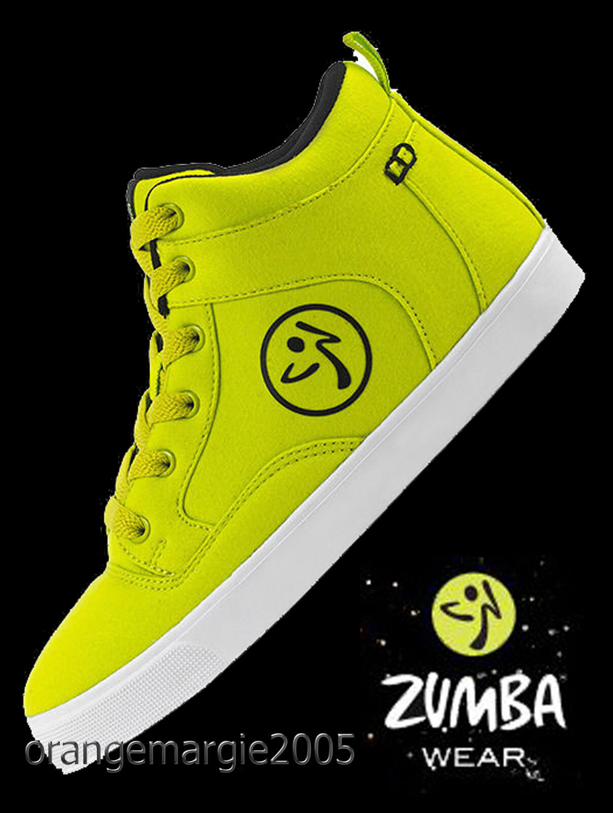 ZUMBA STREET Fresh HIGH TOP shoes TrainersOrlando BossMax & ZUMBA'S TOP LINE