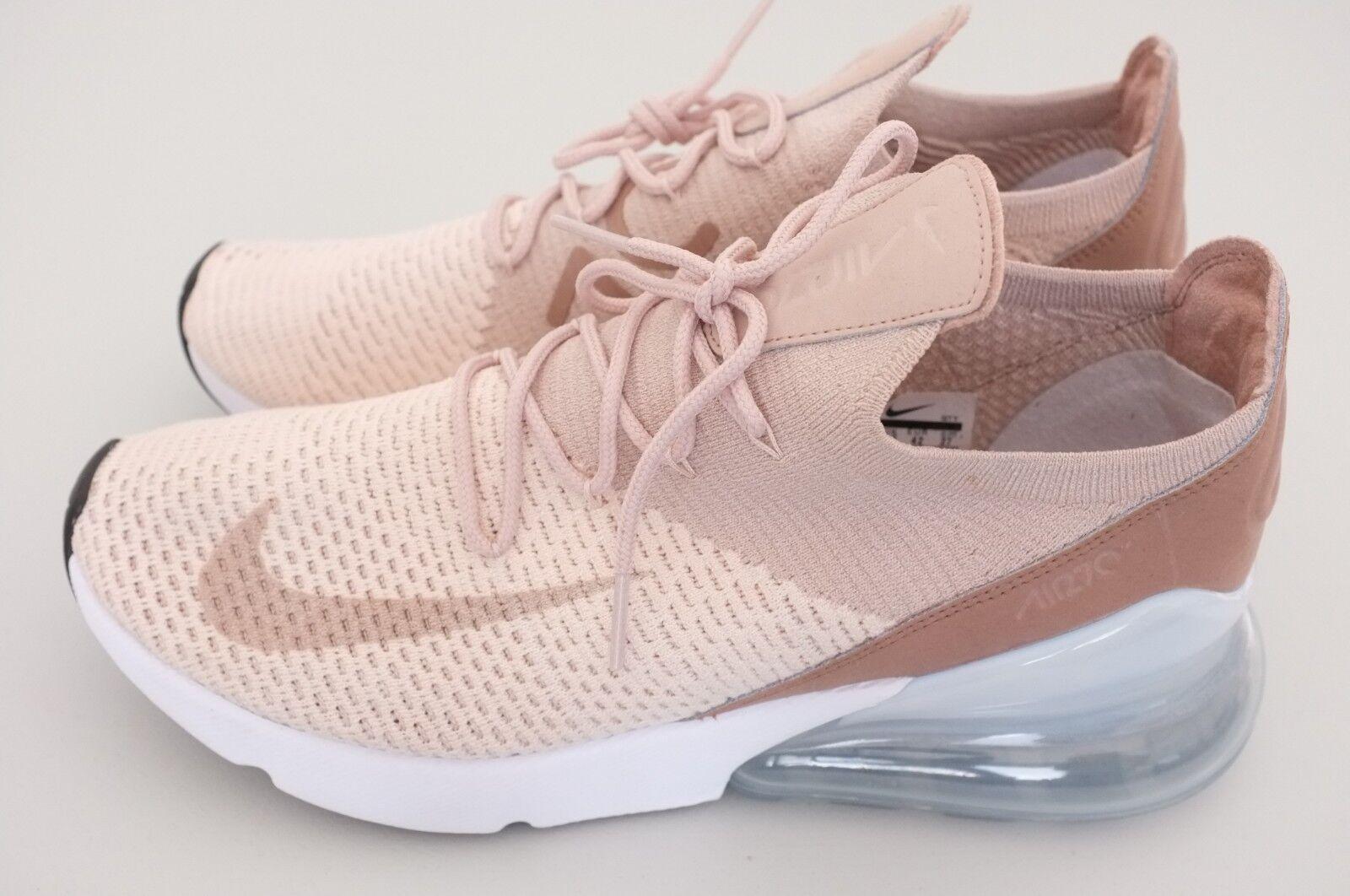 Nuove nike air max 270 donne flyknit scarpe da da da corsa guava ghiaccio sz 10 (ah6803-801) 3a6c19