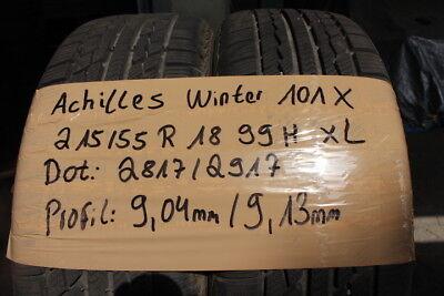 1x Winterreifen Achilles Winter 101 X 215//45R17 91V XL M+S