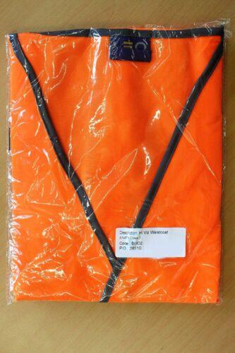 LEO WORKWEAR Warnweste Hi Viz Waistcoat EN471 Class 2 BWO2 orange 2XL