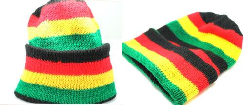 Garçon Fille Poly Cotton Knit Ski Slouch Hat Unisexe Femmes Hommes Bonnet Beanie