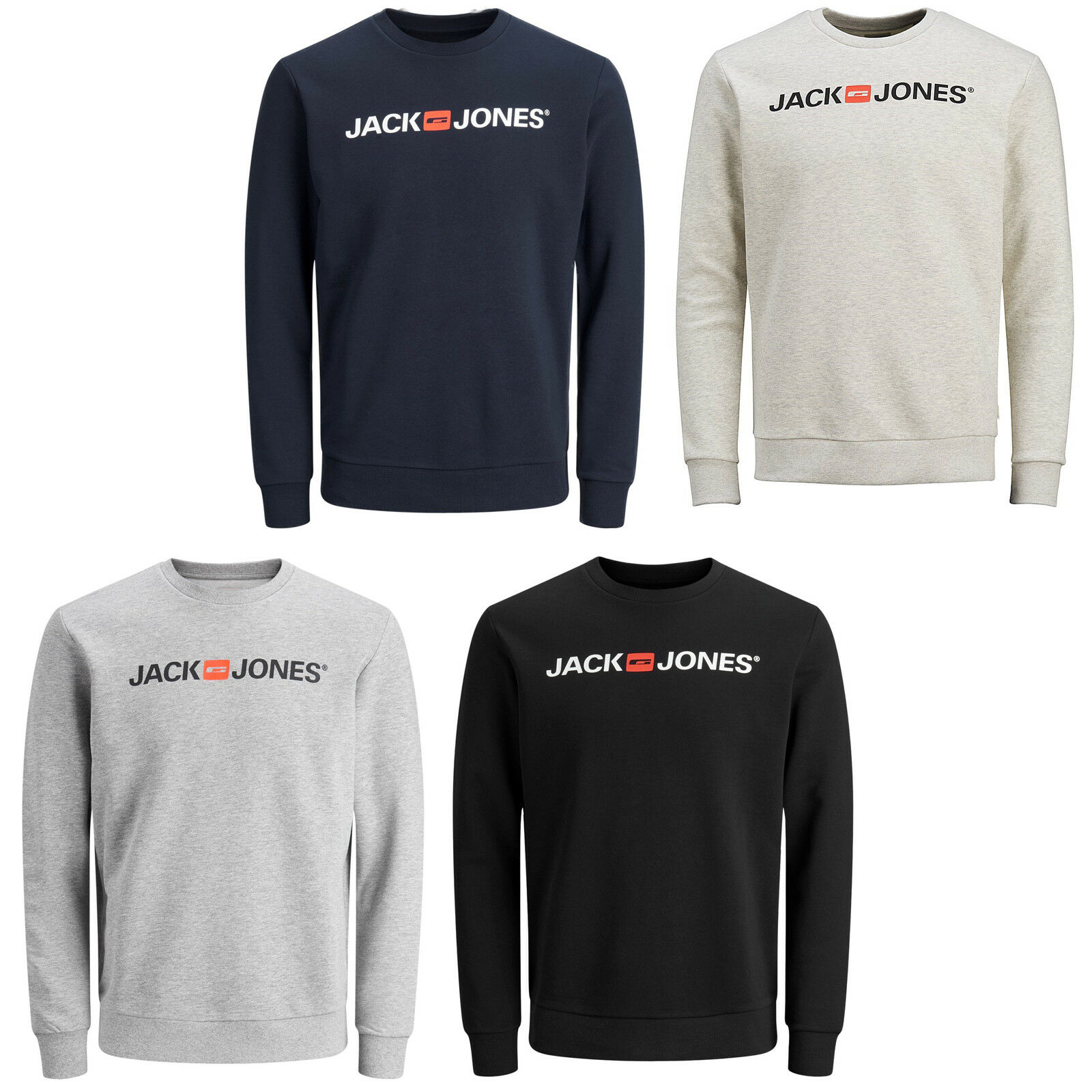 JACK & JONES Essentials Essentials JONES Pull Logo Classique Pull hommes jjecorp 1a8fb3