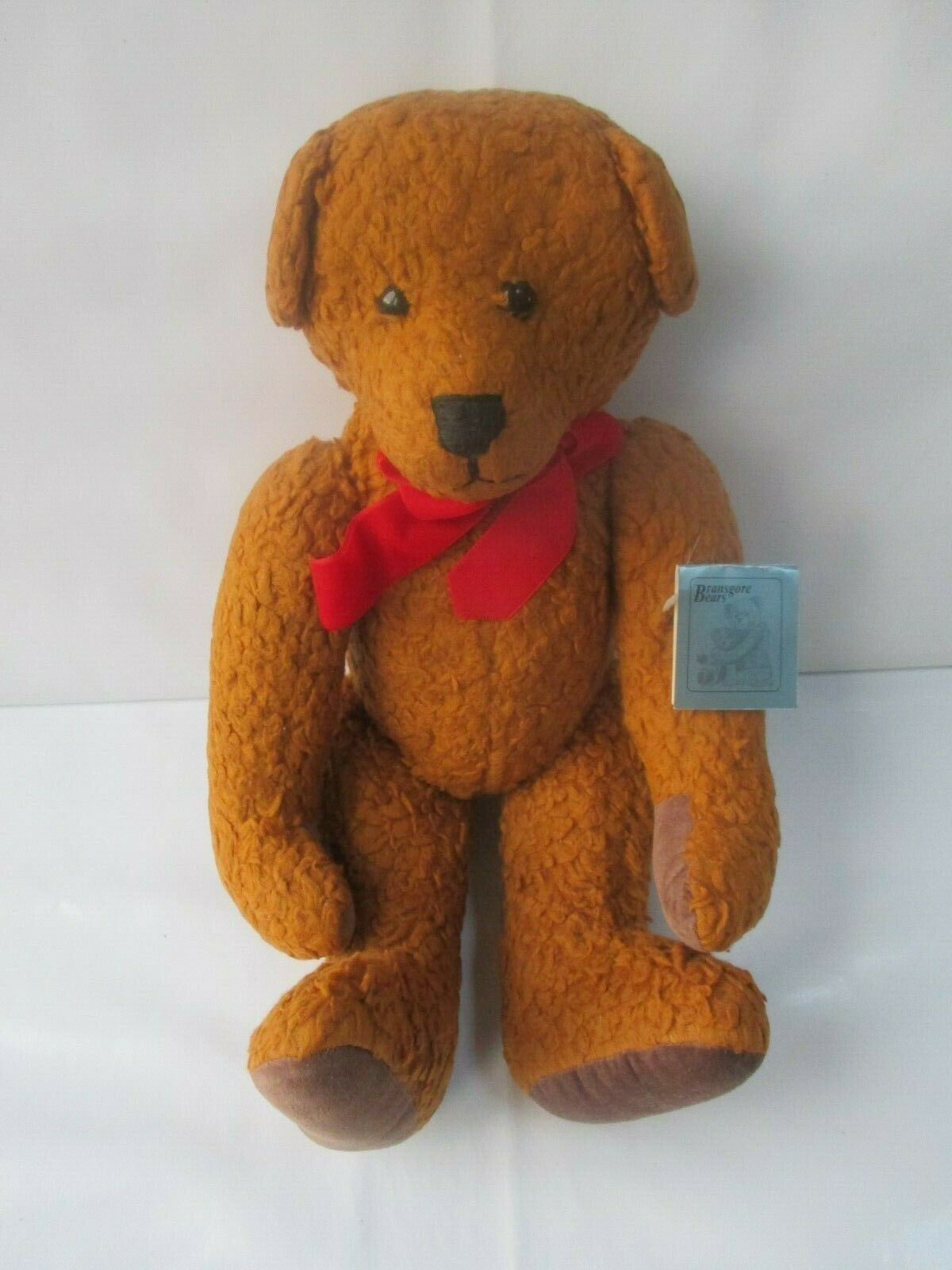 Bromsgrove brown Bear 'Charlie' moveable joints handmade teddy with tag
