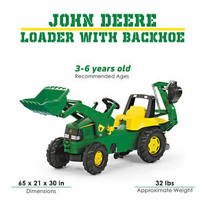 Rolly John Deere Backhoe Digger Loader Stabilizer Foot