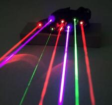7-Farbe Laser Handschuhe Glove Disco Laser show Device recht Hand Neu Top