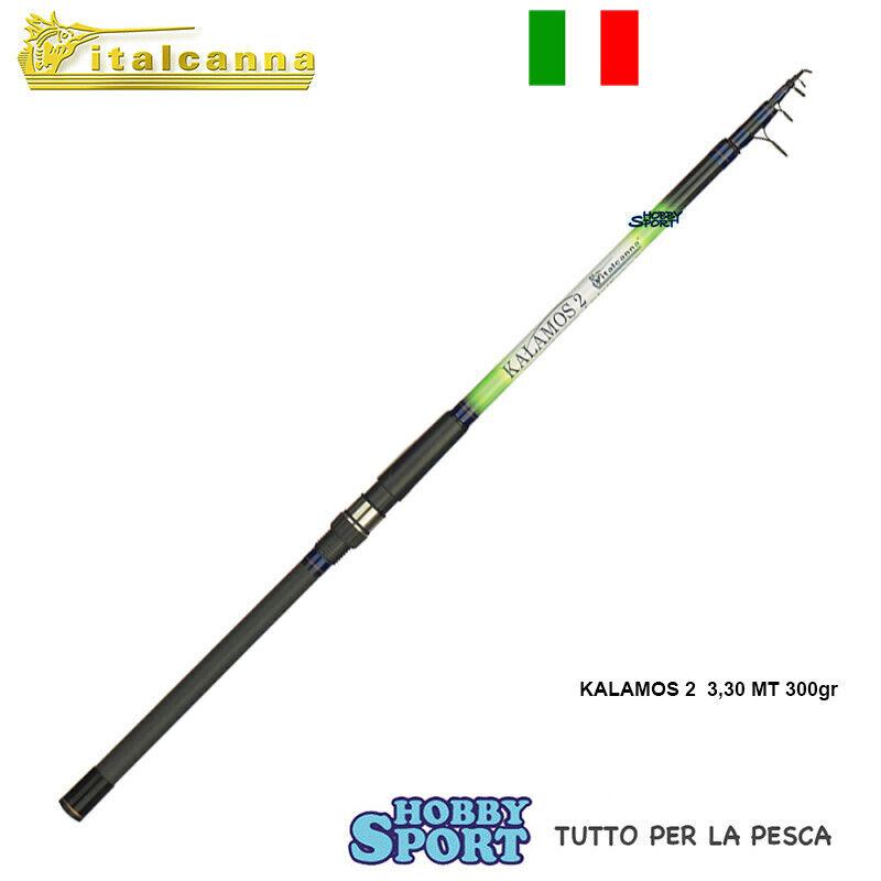 CANNA KALAMOS 2  ITALCANNA  3,30 MT TELESCOPICA    AZ 100300 GR BOLENTINO 584
