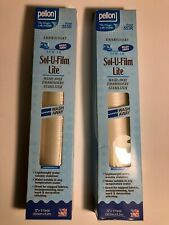 "Pellon Sol-U-Film Lite Wash Away Embroidery Stabilizer-White 12/""X9yd"