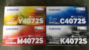 Set-Samsung-Toner-CLP-4072S-K-M-Y-C-Original