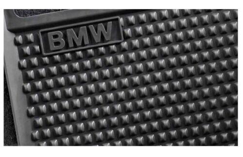Original BMW 5er GT Caoutchouc Paillassons Arrière f07 matten Noir Neuf 51472152367