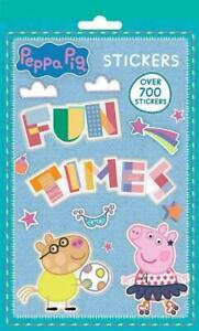 Peppa-Pig-Stickers-livre-700-collant-photo-feuilles-tv-George-personnage-movie-toys