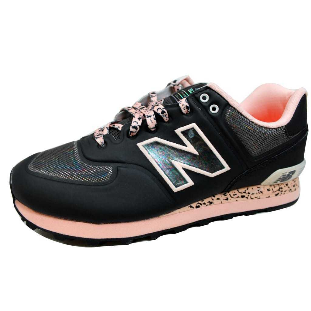 New Balance Atmosphere 574 Black Pink ML574OBG Men's SZ 9