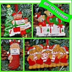 Personalizzato-Di-Natale-Xmas-tree-bauble-Ornamento-Regalo-3-4-5-Famiglia