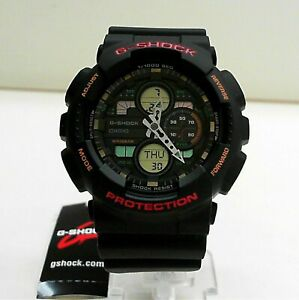 Nouveau Casio G Shock Ana Digi World Time Watch GA 140 1A4  6tjv6