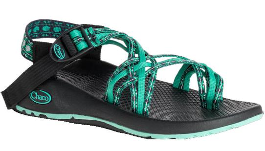 Chaco ZX 3 Classic Chukwalla Aqua Comfort Sandal Wouomo Dimensiones 5-11 NIB