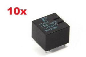10x-Siemens-TYCO-RELAIS-v23084-c2001-a303-gm5-ECU-BMW-e46-x3
