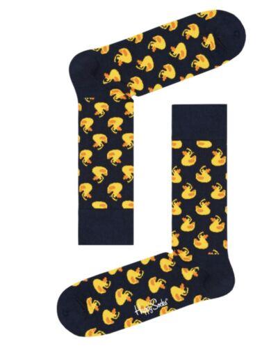 Happy Socks Unisex Rubber Duck Ente Socken Gr.36-40