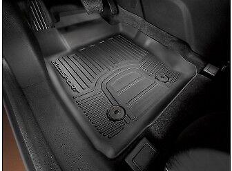 BLACK /& BLUE TRIM CAR FLOOR MATS FORD ECO SPORT 14+