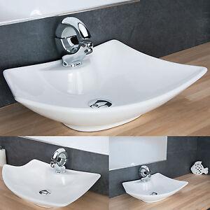 Das Bild Wird Geladen  Design Aufsatzwaschbecken Waschschale Keramik Waschtisch Badezimmer  Waschplatz