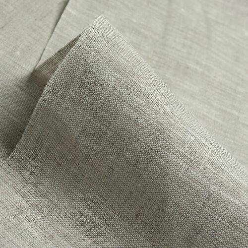 Leinen 100/% Flachs Stoff Canvas Grau Melange 280g//m² 150cm breit Preis pro 1LfM