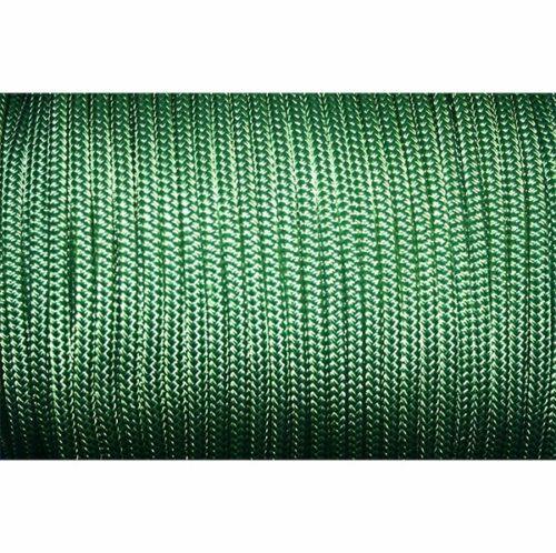 """3/' NAUTOS- MRDB026-6MM  // 1//4/"""" -DOUBLEBRAID SELL BY YARD SOLID GREEN"""