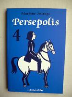 Marjane Satrapi Persepolis Tome 4 Eo Neuf Avec Catalogue Des Dernieres Parutions