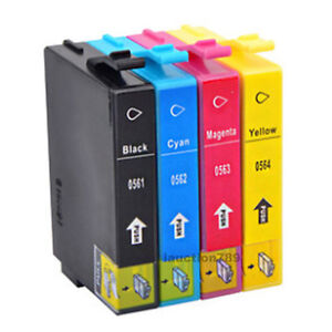 8x-Ink-T0561-T056-4-Cartridges-for-Stylus-Photo-R250-RX430-RX530