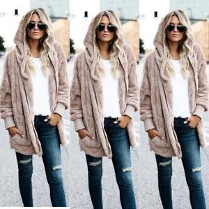 Winter-Warm-Women-Fashion-Fur-Cardigan-Loose-Outwear-Long-Jacket-Coat-Oversized