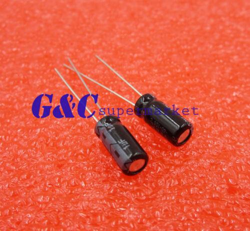 100PCS Radial Electrolytic Capacitor 1UF 50V 5x11mm NEW