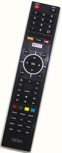 New Genuine Seiki DEL TV Remote For SE40FYP1T SE42UM SE43UMT SE50FYT SE55UET