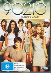 90210-The-Complete-Second-2nd-Season-2-6-x-R4-DVD-Set-NEW-amp-SEALED-Free-Post