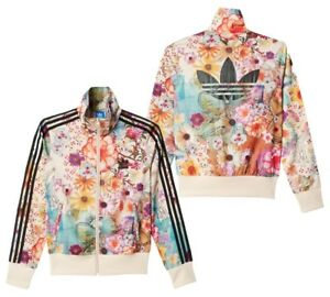 finest selection f905e c1f73 Image is loading New-Adidas-Originals-Firebird-Track-top-Floral-Jacket-