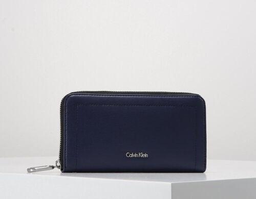 Large Purse Ck Coin Leather Around Zip Calvin Card Wallet Faux Notes 2019 Klein qpx7ZwXE