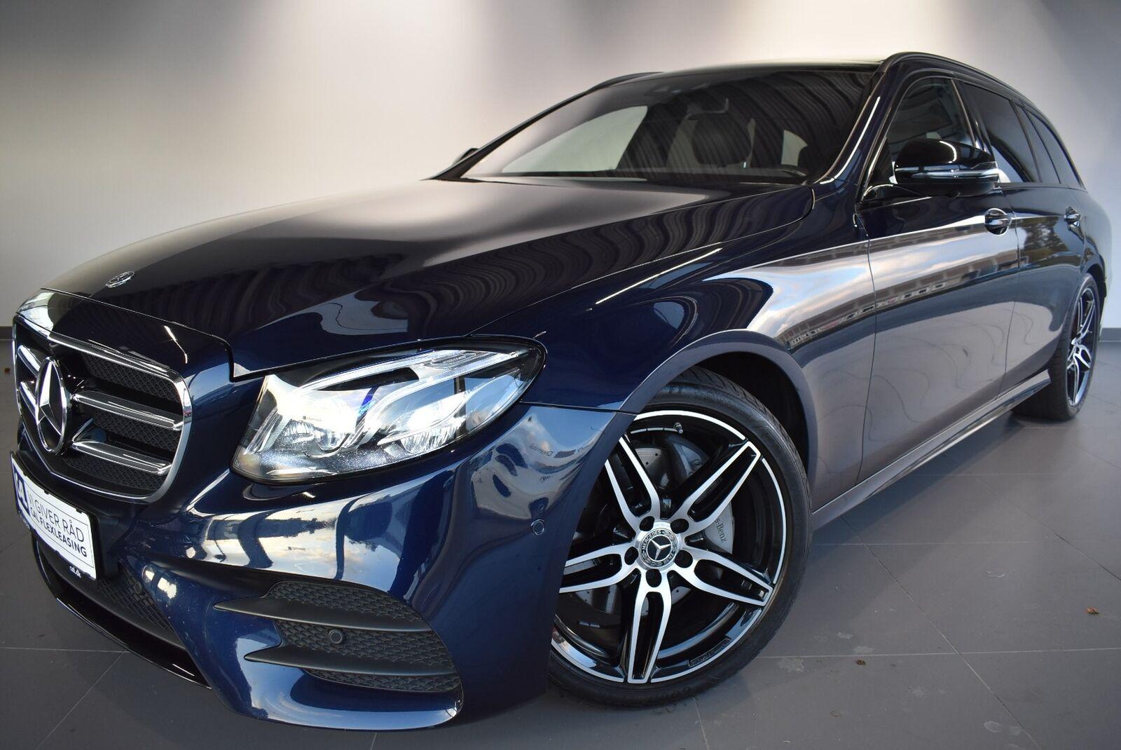 Mercedes E220 d 2,0 AMG Line stc. aut. 4-M 5d - 599.900 kr.