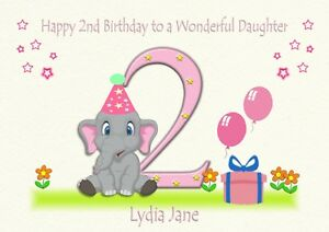 Image Is Loading Personalised Birthday Card 1st 2nd 3rd Son Daughter