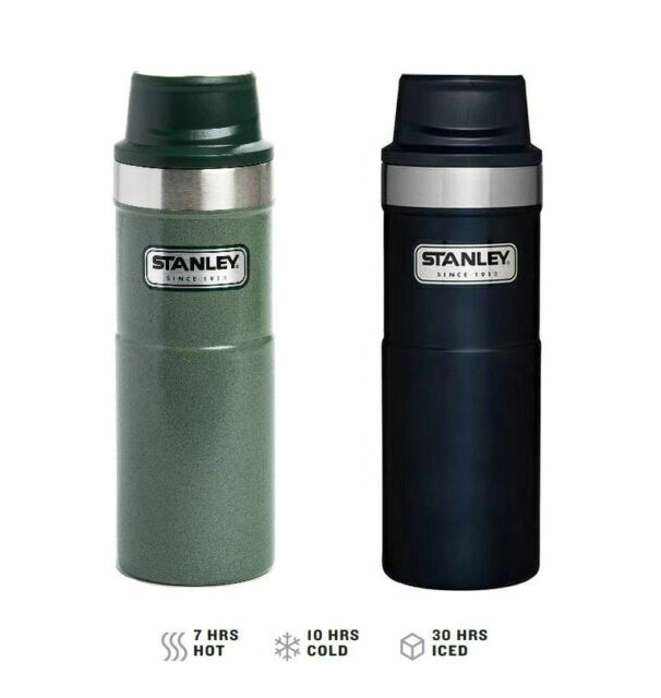 4025964319d 2018 Stanley Classic One Hand 2.0 Vacuum Mug Thermos White 16 Ounce for  sale online | eBay