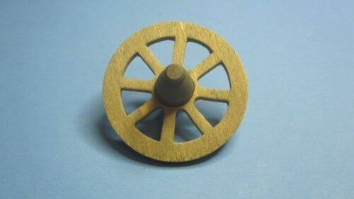 DOLLHOUSE MINIATURE OLD FASHIONED WAGON WHEEL OLD WEST FAIRY GARDEN