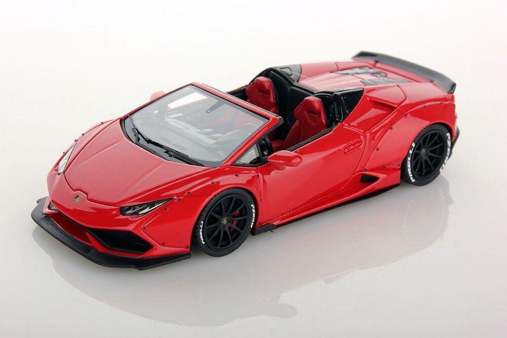 Lamborghini huracan congreenible spyder aftermarket red march 1 43 looksmart