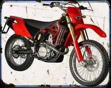 Gas Gas Halley 450 09 2 A4 Metal Sign Motorbike Vintage Aged