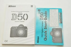NIKON-D50-SPANISH-English-USER-INSTRUCTION-MANUAL-OPERATING-GUIDE