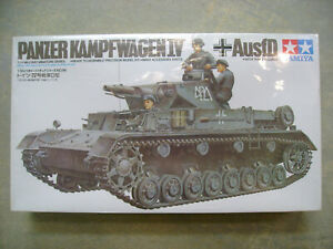TAMIYA-1-35-GERMAN-PANZER-KAMPFWAGEN-IV-Ausf-D-MILITARY-MODEL-35096-NEW-SEALED
