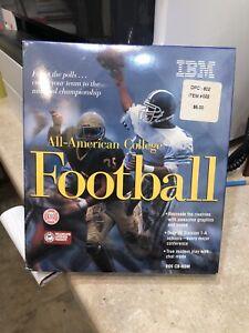 New ALL-AMERICAN COLLEGE FOOTBALL 1995 PC +1Clk Windows 10 8 7 Vista XP Install