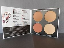 City Color Contour & Define Palette Blush Bronzer Highlight 4 Colors