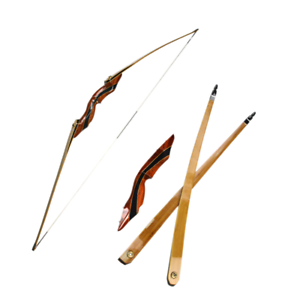 62-034-25-55lbs-Longbow-Traditional-Recurve-Bow-Archery-Takedown-Target-Right-Hand