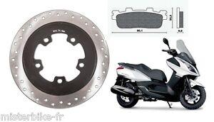 Kit-Disque-et-plaquettes-de-frein-Arriere-Pr-scooter-Kymco-DownTown-125-200-300