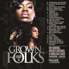 DJ ANT LO GROWN FOLKS SOUL & R&B CLASSICS MIX CD VOL 5
