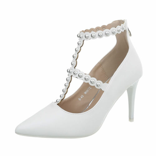 HIGH HEELS RIEMCHEN PUMPS DAMENSCHUHE 9138 0€