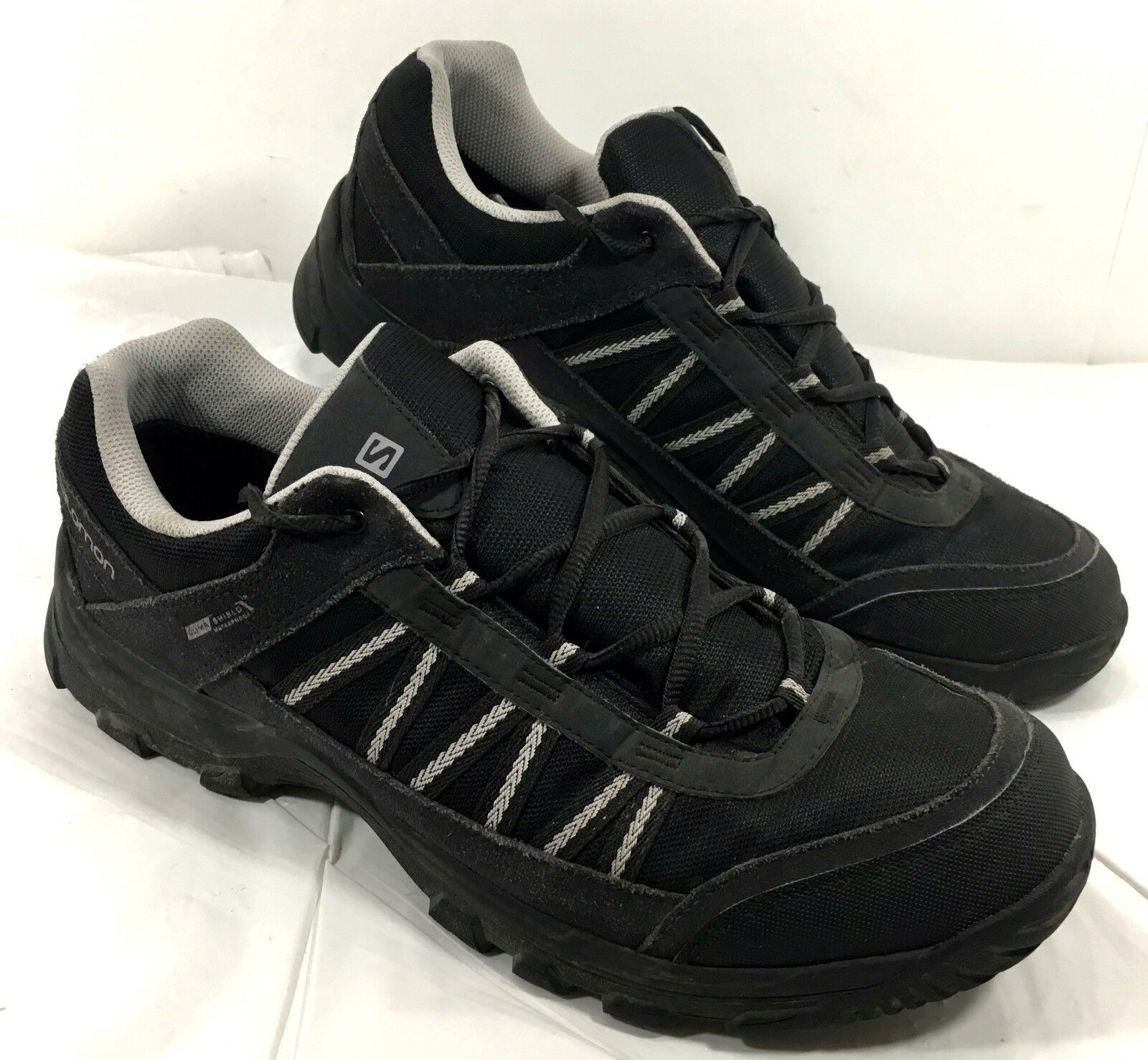 uk availability bd288 e5189 Men s EUC Salomon KEYSTONE Trail shoes Waterproof Sz 11