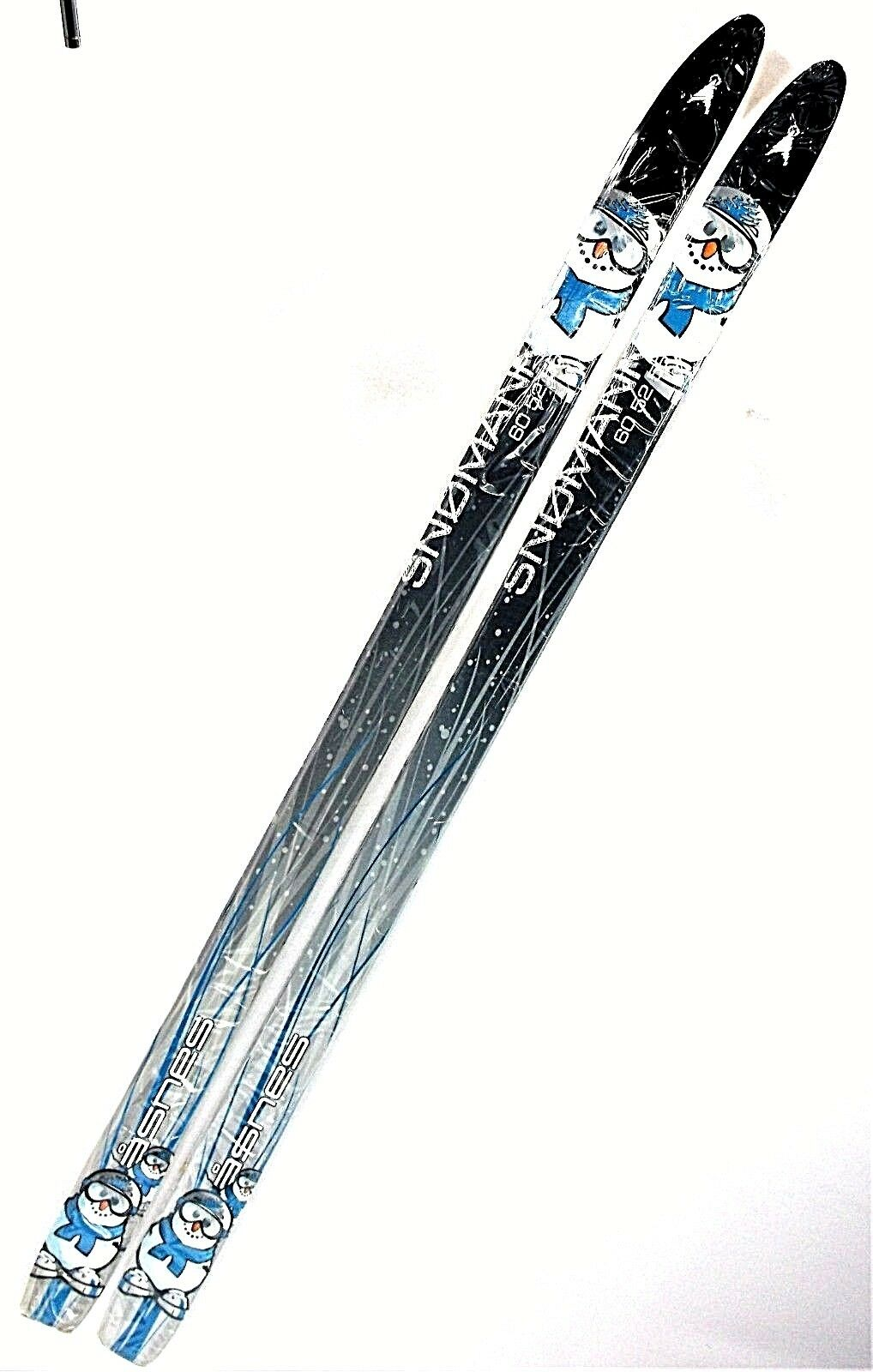 KIDS Cross Country Skis,Asnes Snowman 100 cm, Waxless Fishscaled, UNMOUNTED